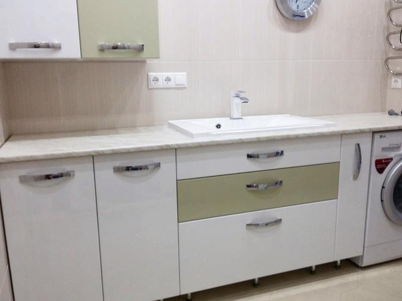 Мебель для ванной комнаты-Мебель для ванной «Модель 63»-фото1