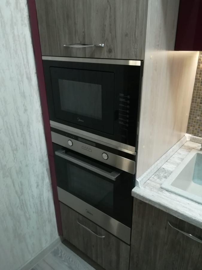 Встроенная кухня-Кухня из ЛДСП «Модель 378»-фото3