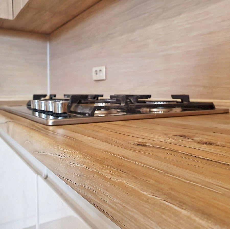 Белый кухонный гарнитур-Кухня МДФ в эмали «Модель 543»-фото7