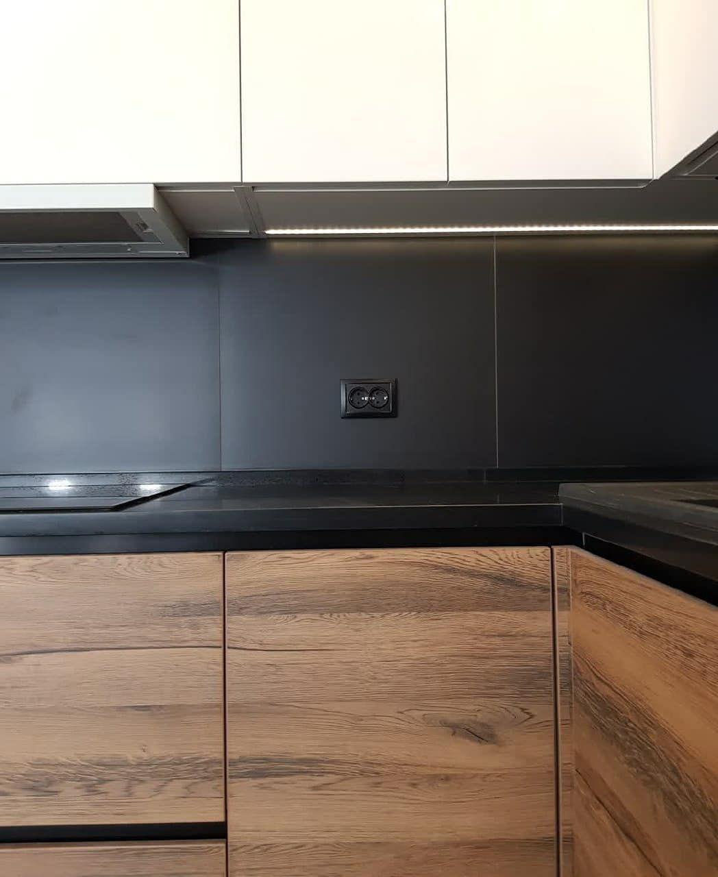 Белый кухонный гарнитур-Кухня МДФ в эмали «Модель 629»-фото5