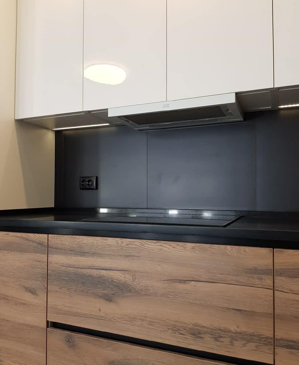 Белый кухонный гарнитур-Кухня МДФ в эмали «Модель 629»-фото7
