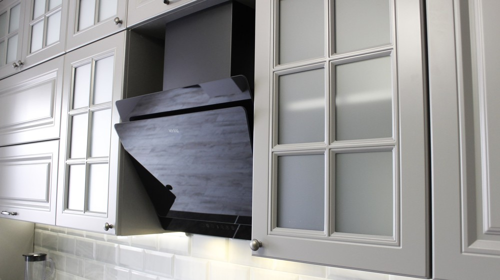 Белый кухонный гарнитур-Кухня МДФ в ПВХ «Модель 183»-фото4