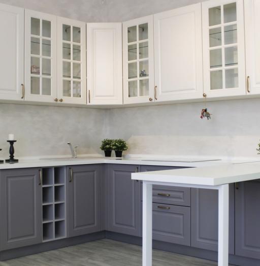 -Кухня МДФ в ПВХ «Модель 282»-фото15