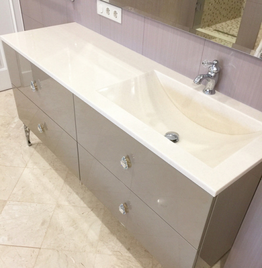 Мебель для ванной комнаты-Мебель для ванны «Модель 45»-фото4
