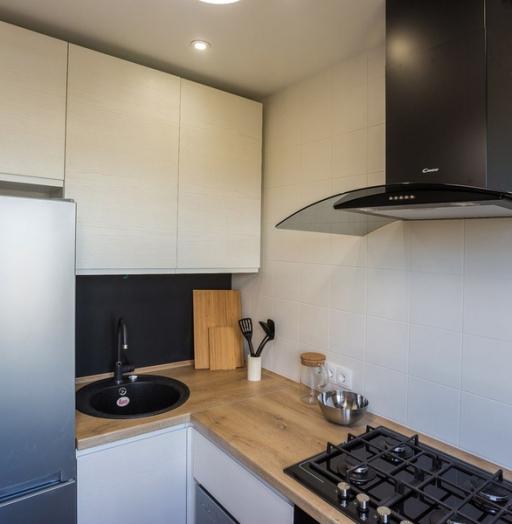 -Кухня МДФ в эмали «Модель 458»-фото25