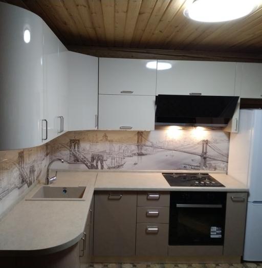 -Кухня МДФ в ПВХ «Модель 38»-фото22