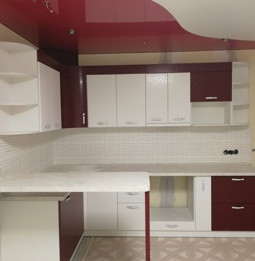 -Кухня МДФ в эмали «Модель 18»-фото15