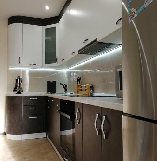 -Кухня МДФ в ПВХ «Модель 27»-фото16