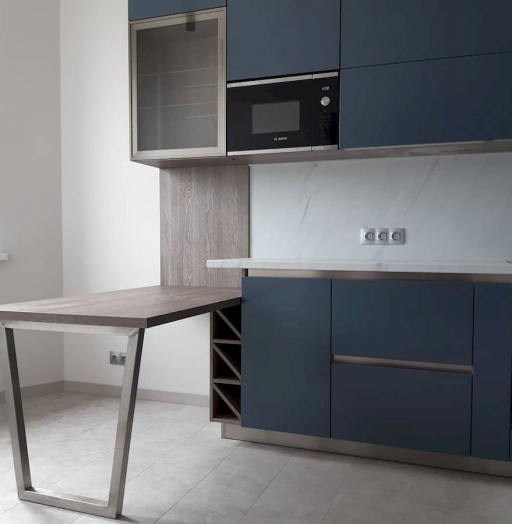 -Кухня МДФ в эмали «Модель 647»-фото23